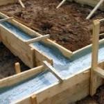 Как изготовить опалубку для заливки фундамента бани