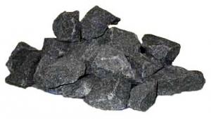 Популярный выбор камней для бани - габро-диабаз