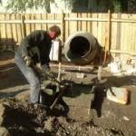 Заливка и гидроизоляция фундамента для бани
